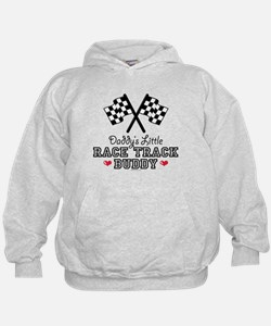 Daddy's Little Race Track Buddy Hoodie