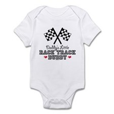 Daddy's Little Race Track Buddy Onesie