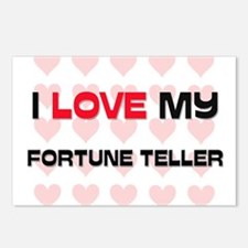 I Love My Fortune Teller Postcards (Package of 8)