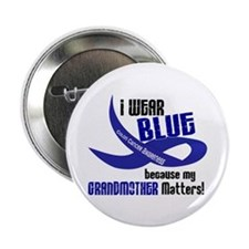 "I Wear Blue For My Grandmother 33 CC 2.25"" Button"