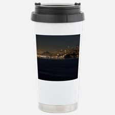 san Francisco bay night Travel Mug
