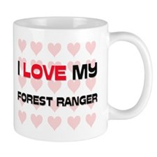 I Love My Forest Ranger Mug