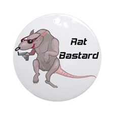 Rat Bastard Ornament (Round)