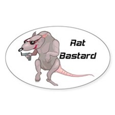 Rat Bastard Oval Decal