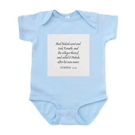 NUMBERS 32:42 Infant Creeper
