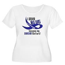 I Wear Blue For My Nana 33 CC T-Shirt