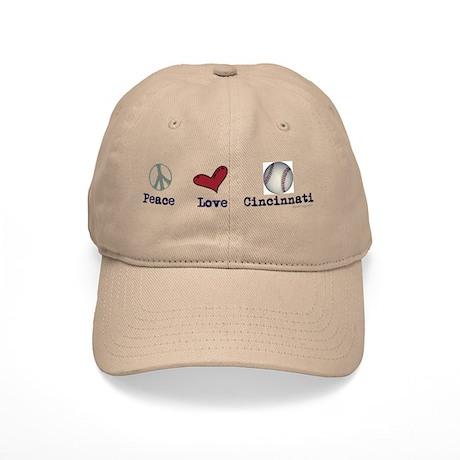 oddFrogg Peace Love Cincinnati Cap