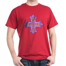Violet Coptic Cross T-Shirt