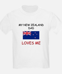 My NEW ZEALAND DAD Loves Me T-Shirt
