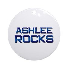 ashlee rocks Ornament (Round)
