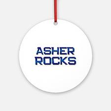 asher rocks Ornament (Round)