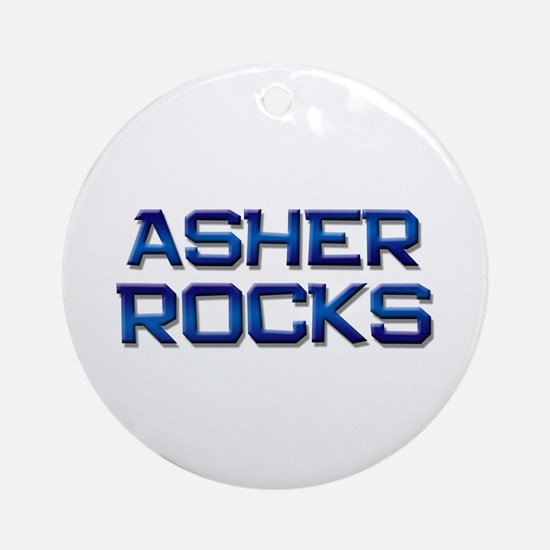 asher rocks Ornament (Round)