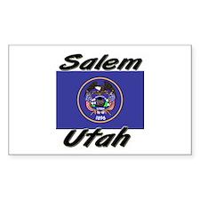 Salem Utah Rectangle Decal