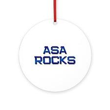 asa rocks Ornament (Round)