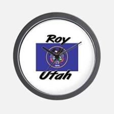 Roy Utah Wall Clock