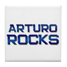arturo rocks Tile Coaster