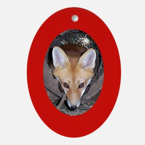 Fox Kit Ornament