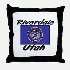 Riverdale Utah Throw Pillow