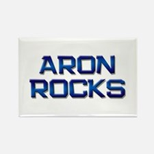 aron rocks Rectangle Magnet