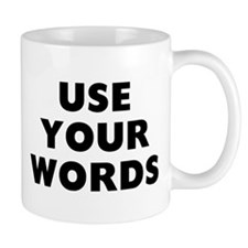 Use Words Mug