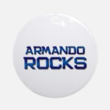 armando rocks Ornament (Round)