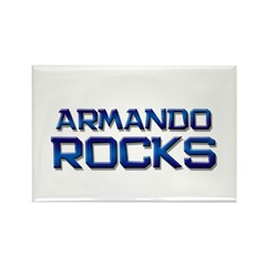 armando rocks Rectangle Magnet (10 pack)