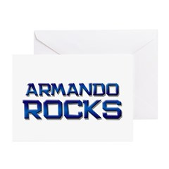 armando rocks Greeting Cards (Pk of 20)