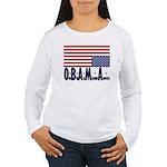 O*B*A*M*A Women's Long Sleeve T-Shirt