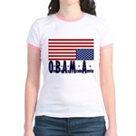 O*B*A*M*A Jr. Ringer T-Shirt