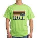 O*B*A*M*A Green T-Shirt