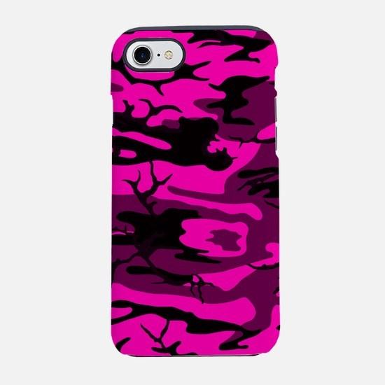 Alien Pink Camo iPhone 7 Tough Case