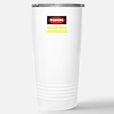 WARNING! Travel Mug