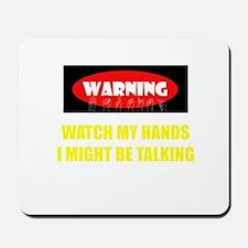 WARNING! Mousepad