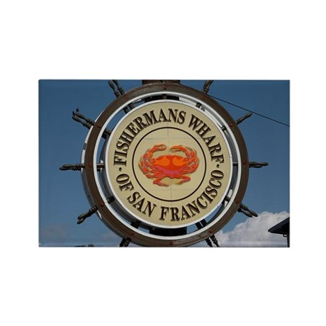 fishermans wharf Rectangle Magnet (10 pack)