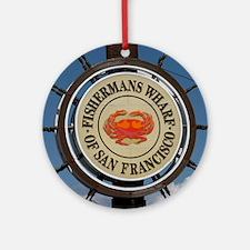 fishermans wharf Ornament (Round)