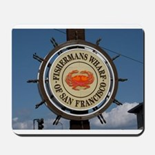 fishermans wharf Mousepad