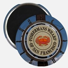 fishermans wharf Magnet