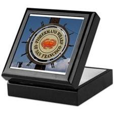fishermans wharf Keepsake Box