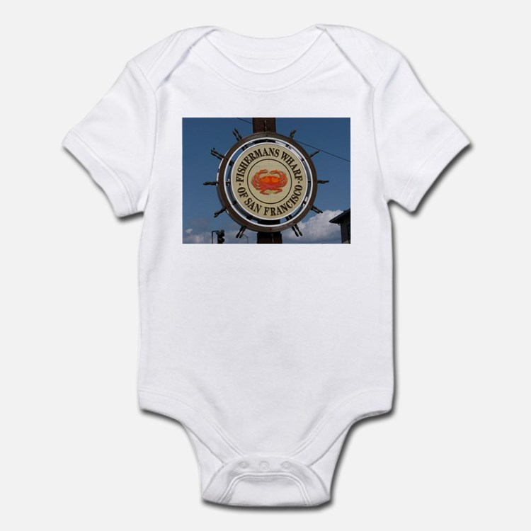 fishermans wharf Infant Bodysuit