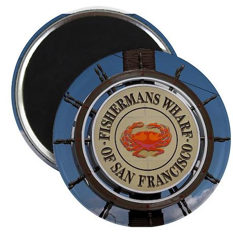 "fishermans wharf 2.25"" Magnet (100 pack)"