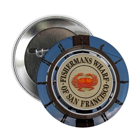 """fishermans wharf 2.25"""" Button (10 pack)"""