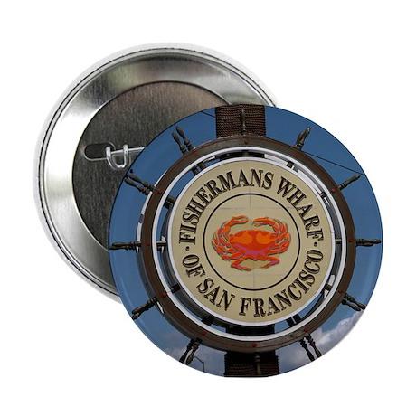 "fishermans wharf 2.25"" Button"
