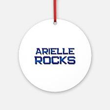 arielle rocks Ornament (Round)