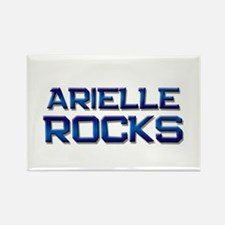 arielle rocks Rectangle Magnet
