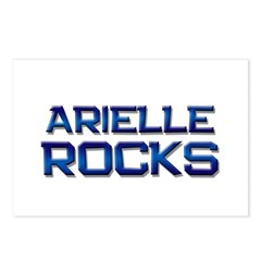arielle rocks Postcards (Package of 8)
