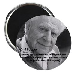 Philosophy Karl Popper Magnet