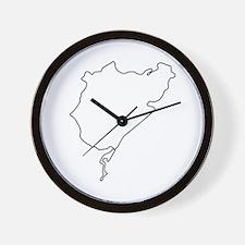 Nurburgring Wall Clock