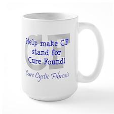 Blue CF Cure Found Mug