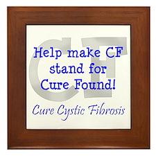 Blue CF Cure Found Framed Tile