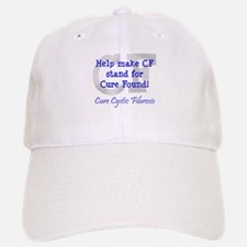 Blue CF Cure Found Baseball Baseball Cap